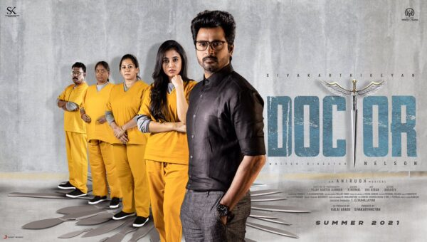 Sivakarthikeyan's and Priyanka Arul Mohan's Doctor Movie News and Release Date