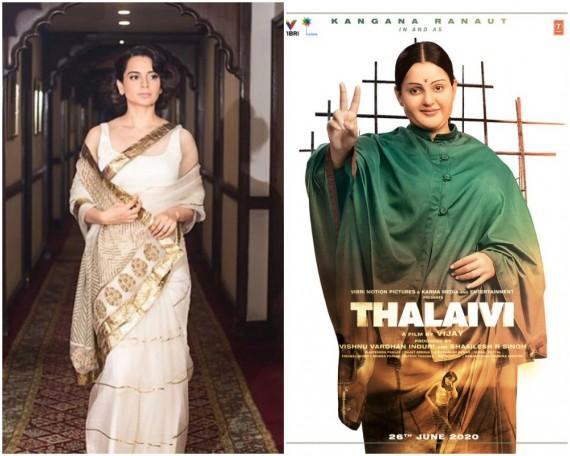 Kangana Ranaut's Upcoming Biographical Thalaivi Movie News and Details
